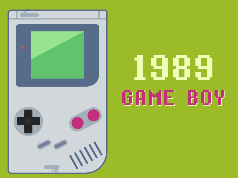 The Evolution of the Gameboy